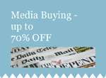 Media Buying with up to 70% Off