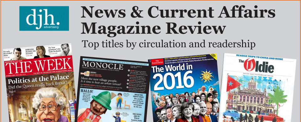 magazine advertising critique Music, film, tv and political news coverage.